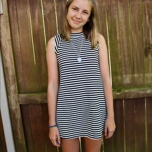 Urban outfitters retro 70s striped shift dress